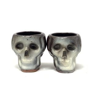 Made in Japan Vintage Skull candle Votives